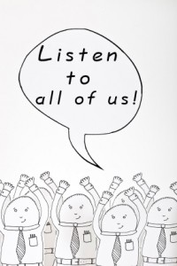 Listen To All Of Us!